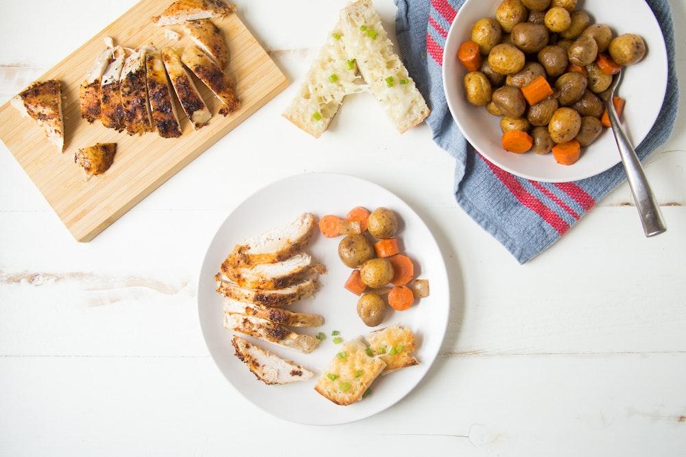 Slow Cooker 'Rotisserie' Chicken