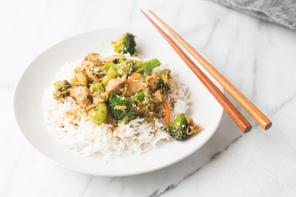 Chicken Yakitori Stir-Fry