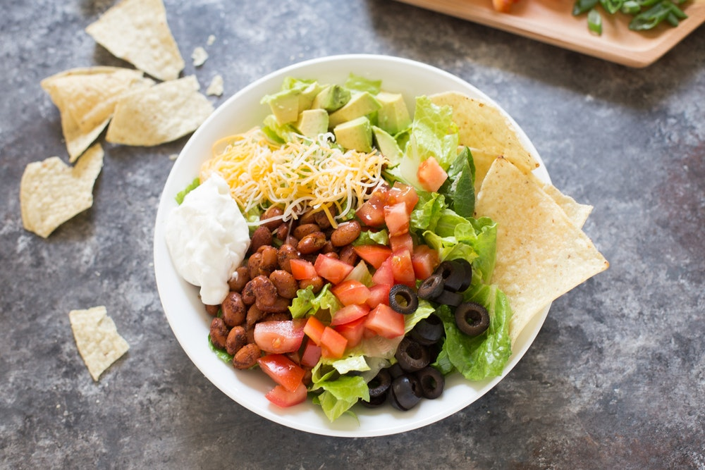7-Layer Dip Salad