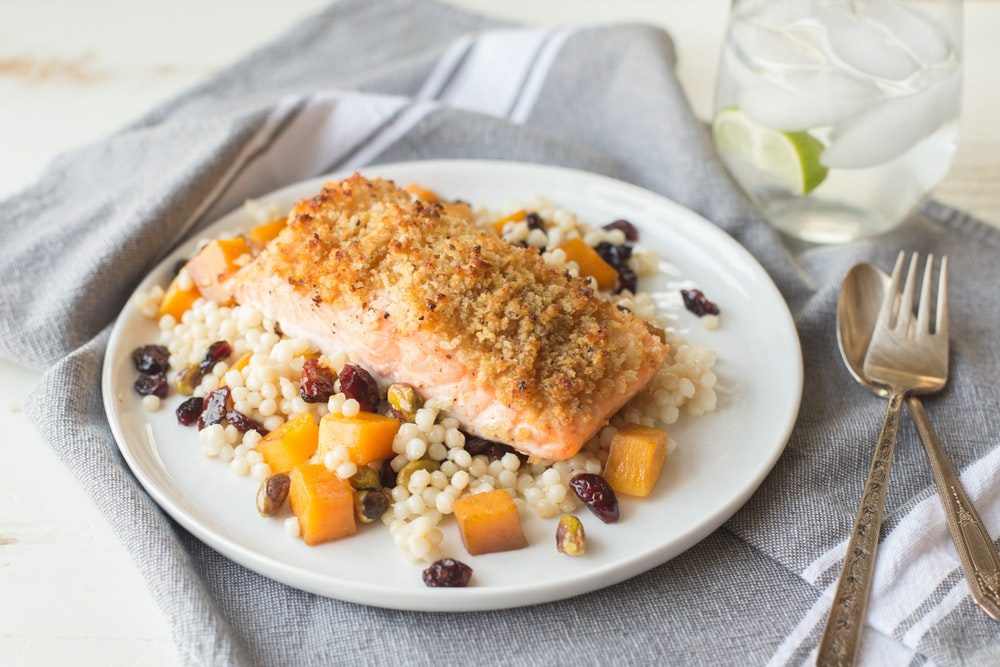 Maple-Dijon Salmon