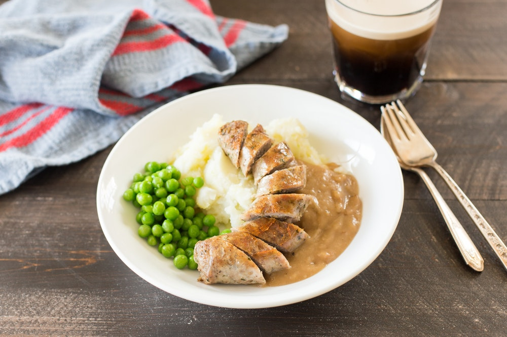 Sausage and Colcannon