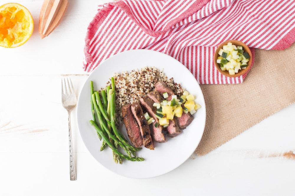 Marinated Mojo Skirt Steak