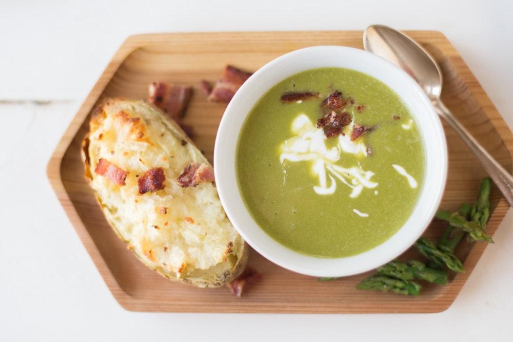 Pureed Asparagus Soup