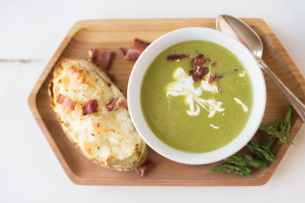 Pureed Asparagus Soup