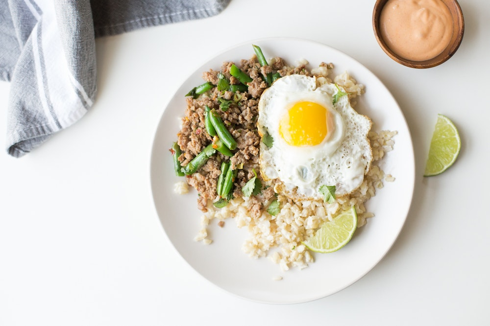 Thai Stir-Fried Lentils and Green Beans