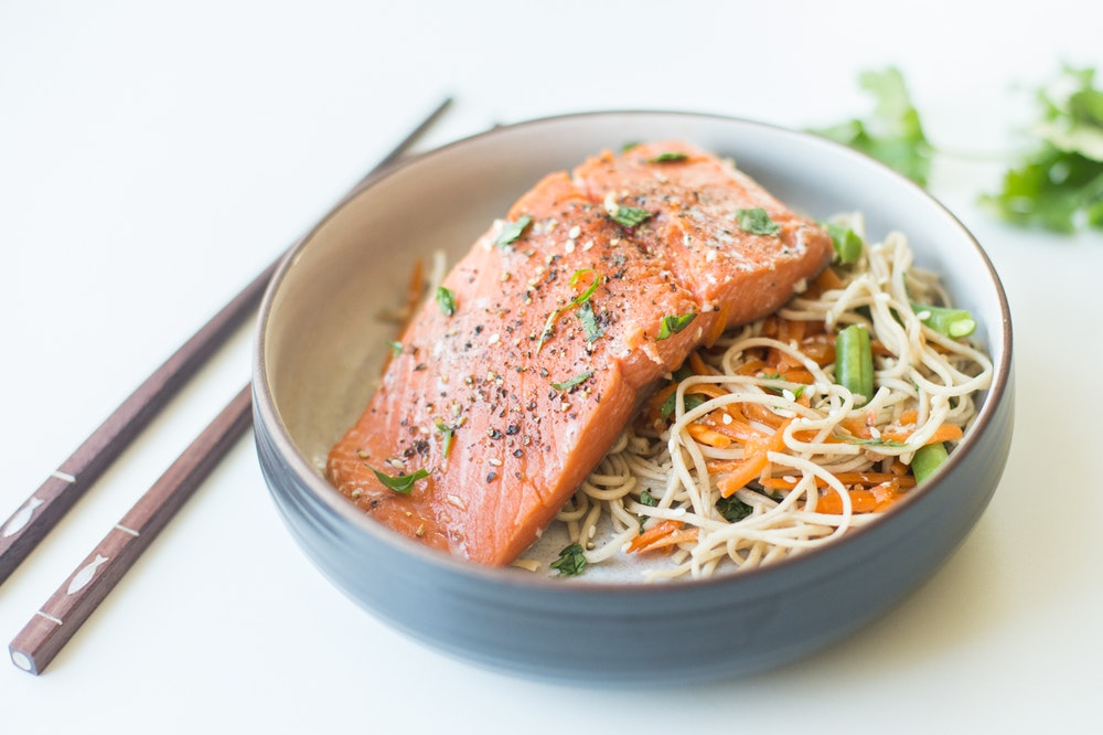 Ginger Salmon Foil Packets