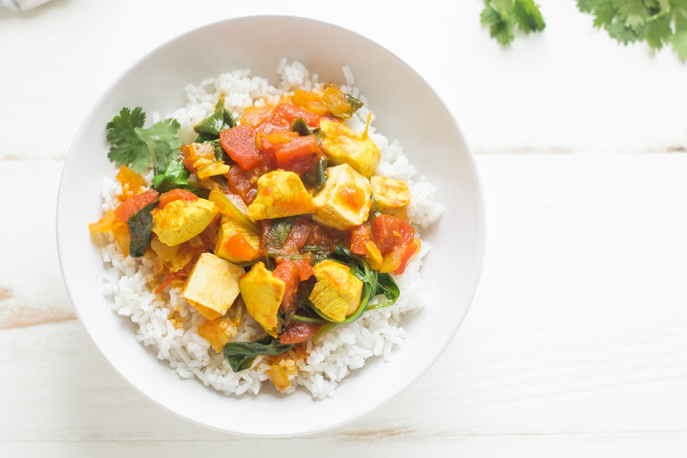 Paneer and Chicken Curry