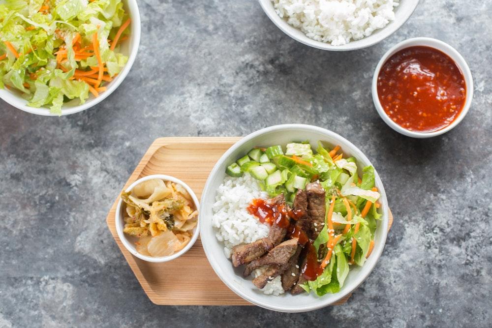 Korean BBQ Platter