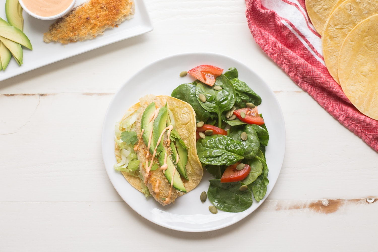 California-Style Tacos with Hearts of Palm