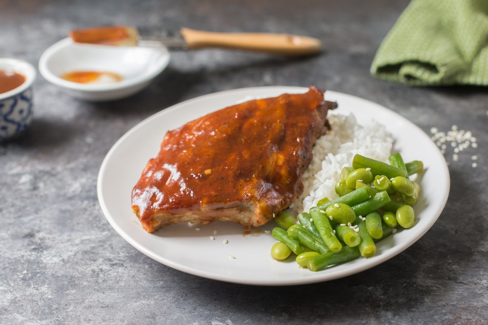 Slow Cooker Hoisin Ribs