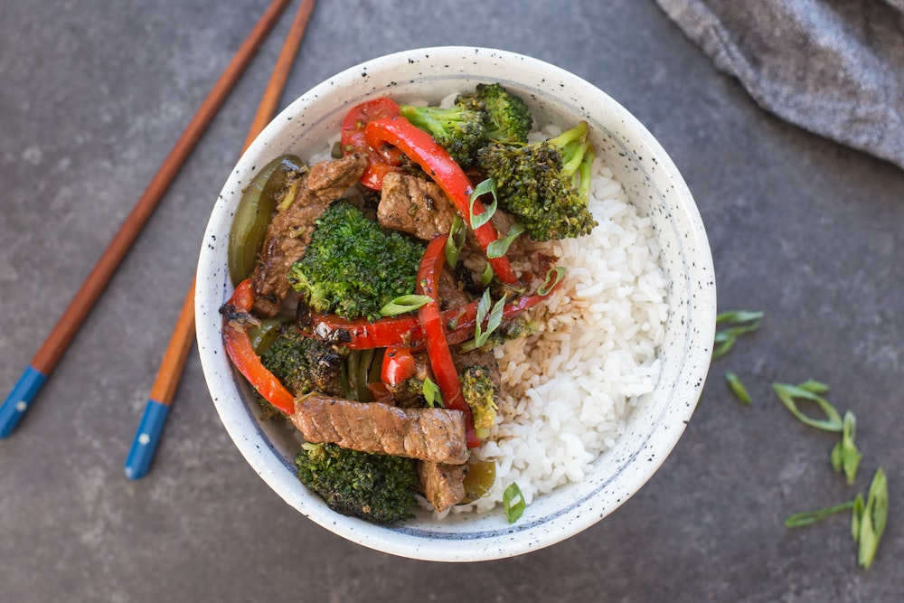 Black Pepper Beef Stir-fry