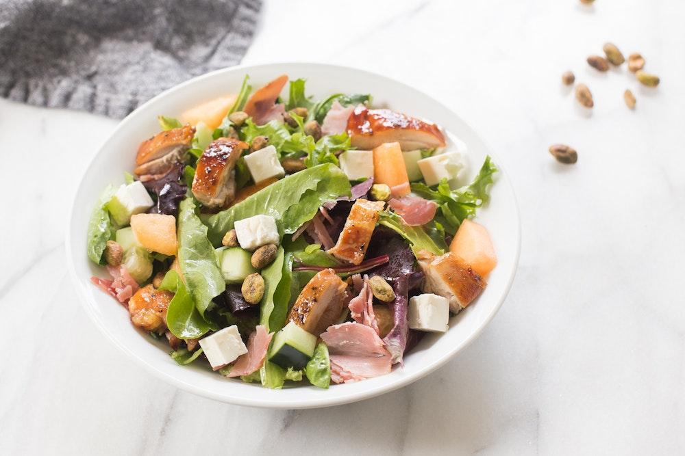 Summer Chopped Chicken Salad
