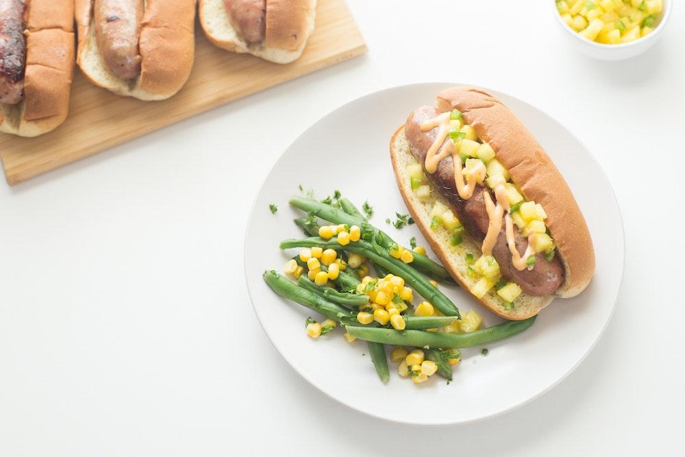 Summer Vegetable and Black Bean Grain Bowls