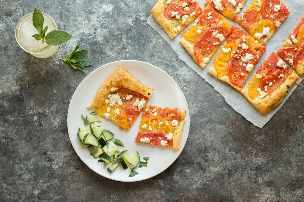 Tomato and Feta Tart