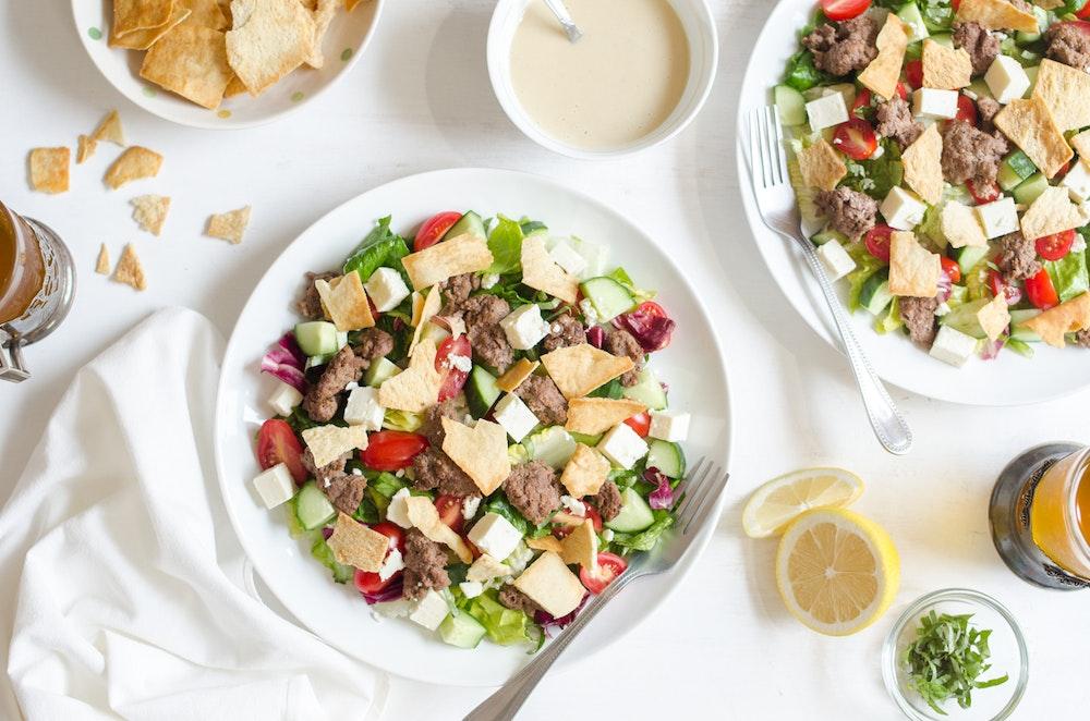 Lamb Fattoush Salad