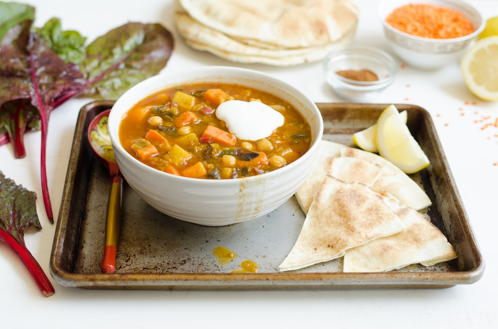 North African Spiced Bean Stew