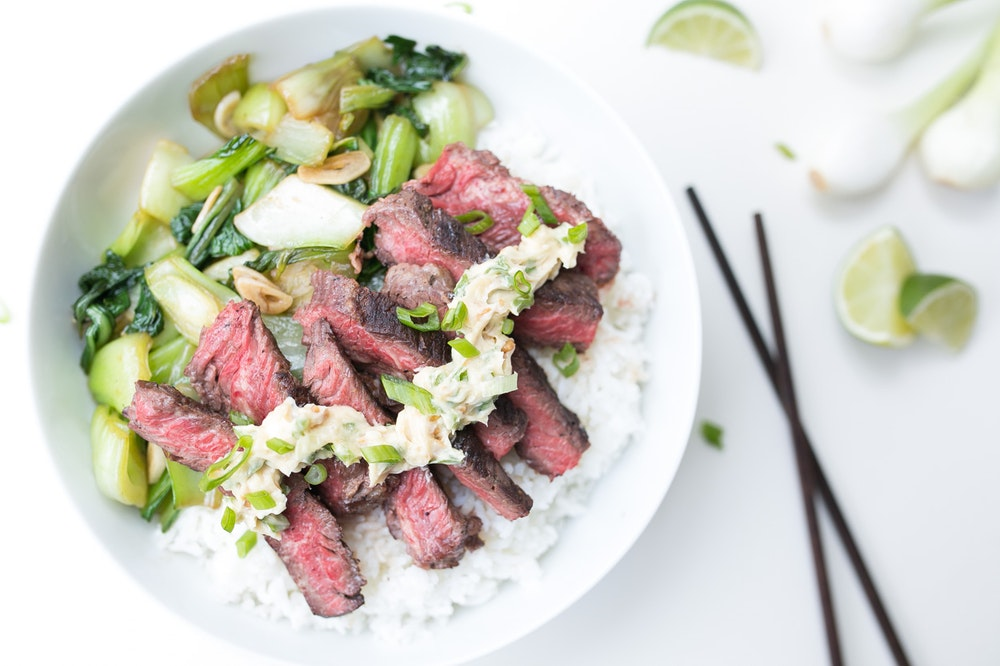 Steak with Aminos-Lime Butter