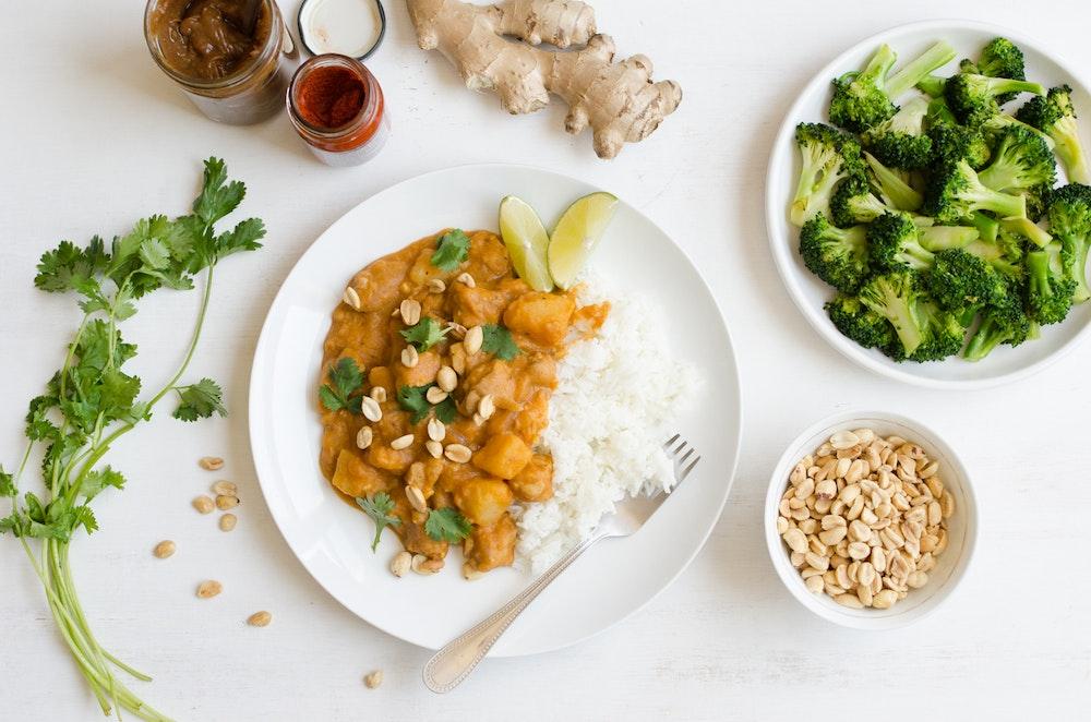 Massaman Tofu Curry