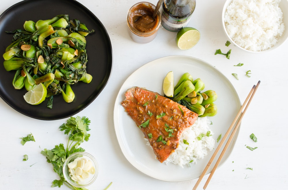 Tamarind Marinated Salmon