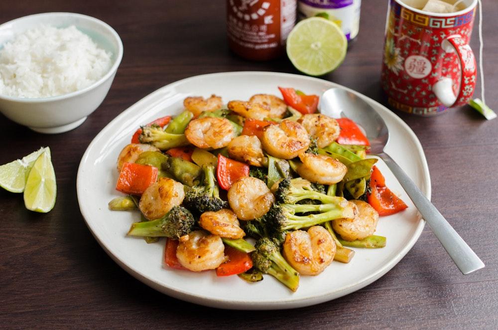 Hoisin Shrimp and Broccoli Stir-fry