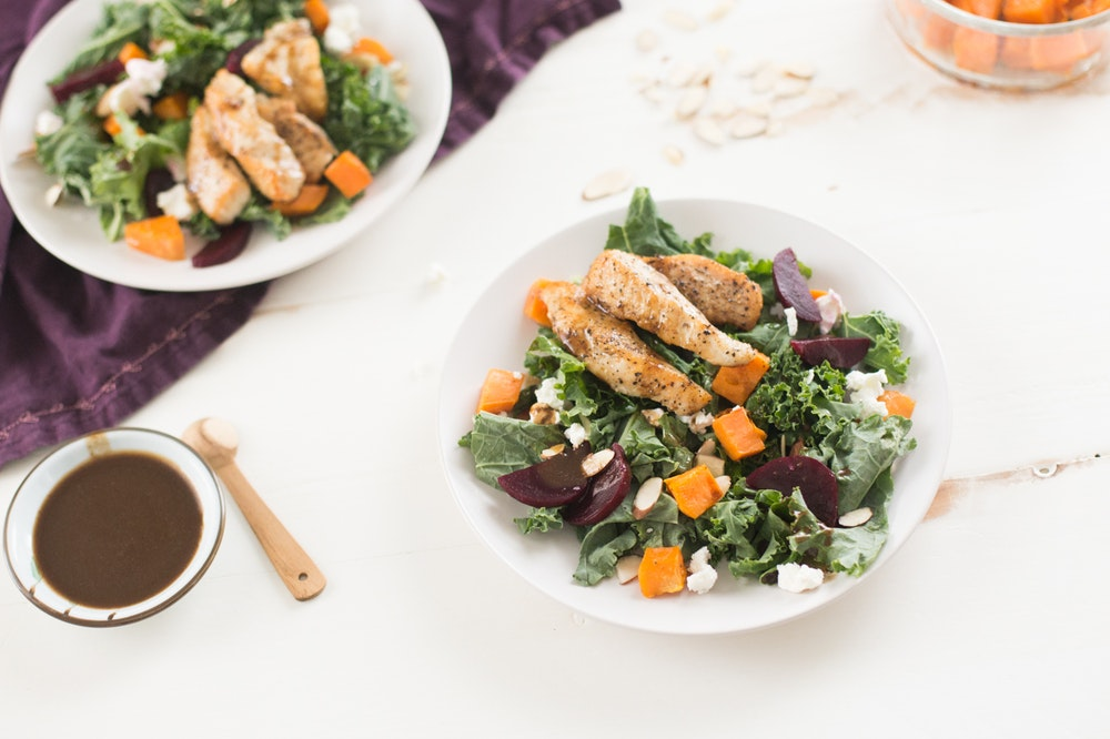 Chicken and Kale Salad