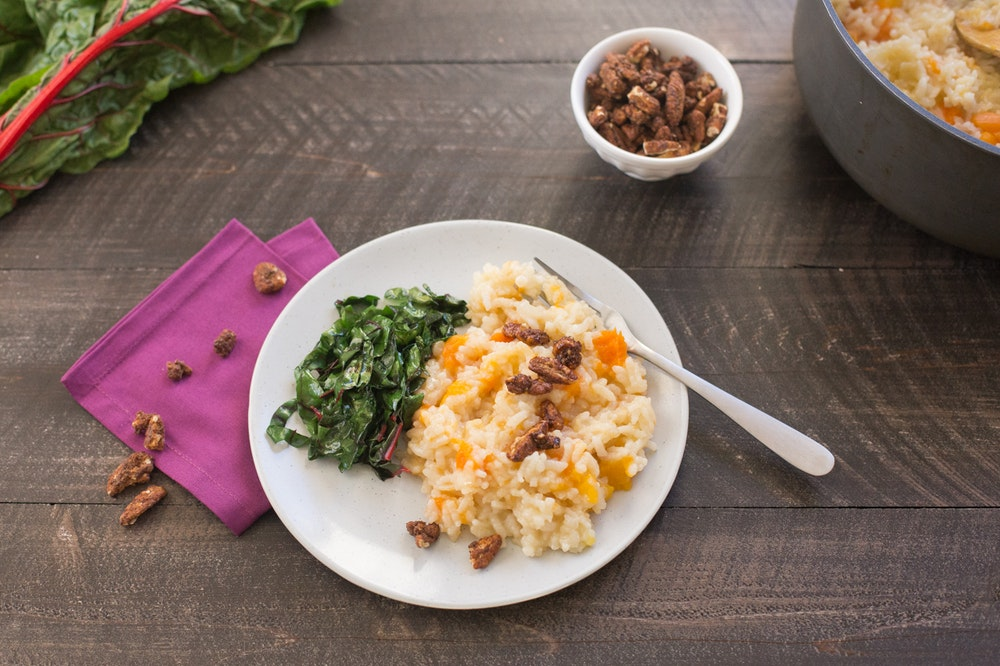 Baked Butternut Squash Risotto