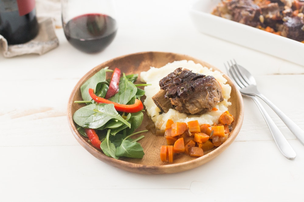 Slow Cooker (or not) Red Wine Braised Short Ribs