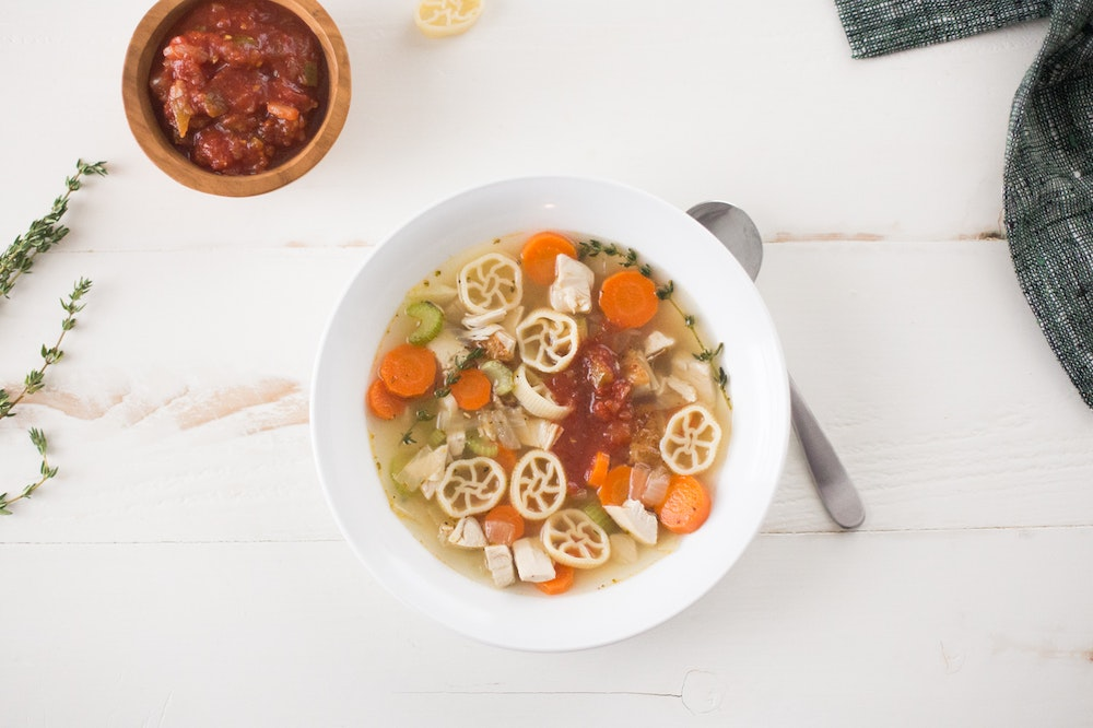 Slow Cooker (or not) Chicken Soup
