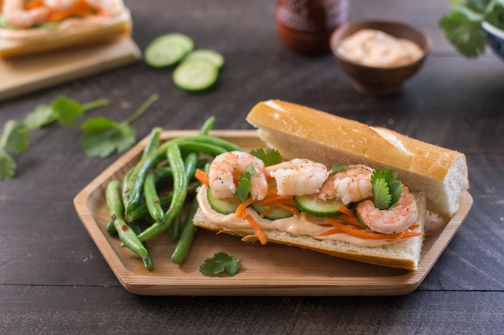 Shrimp Banh Mi