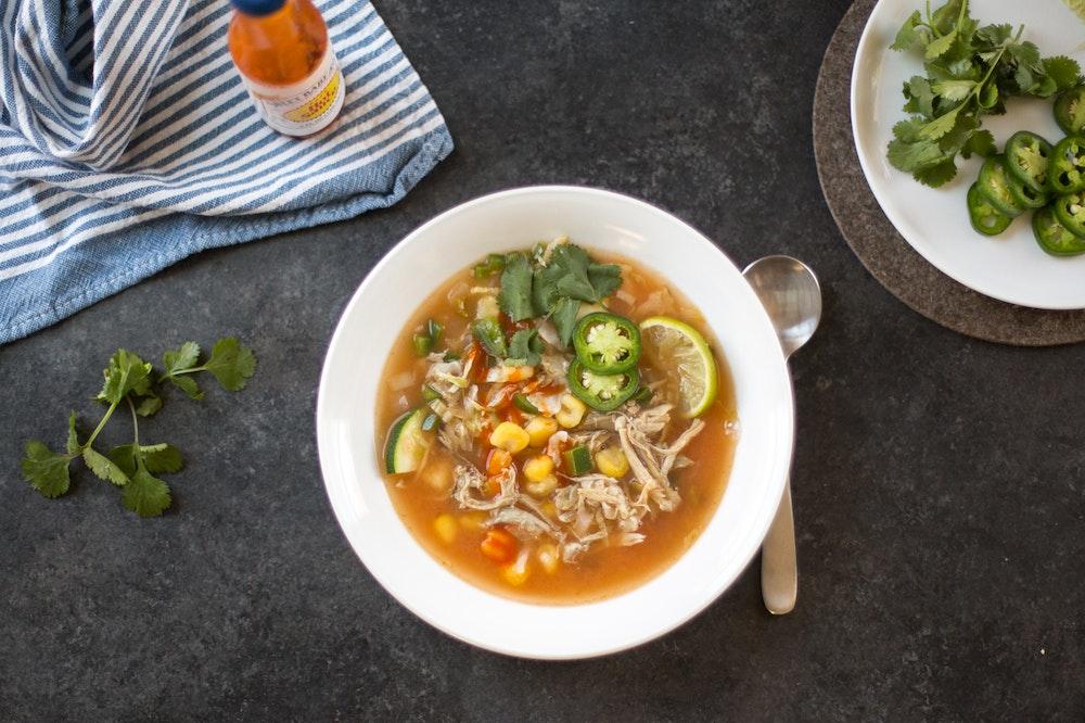 Leftover Carnitas Soup