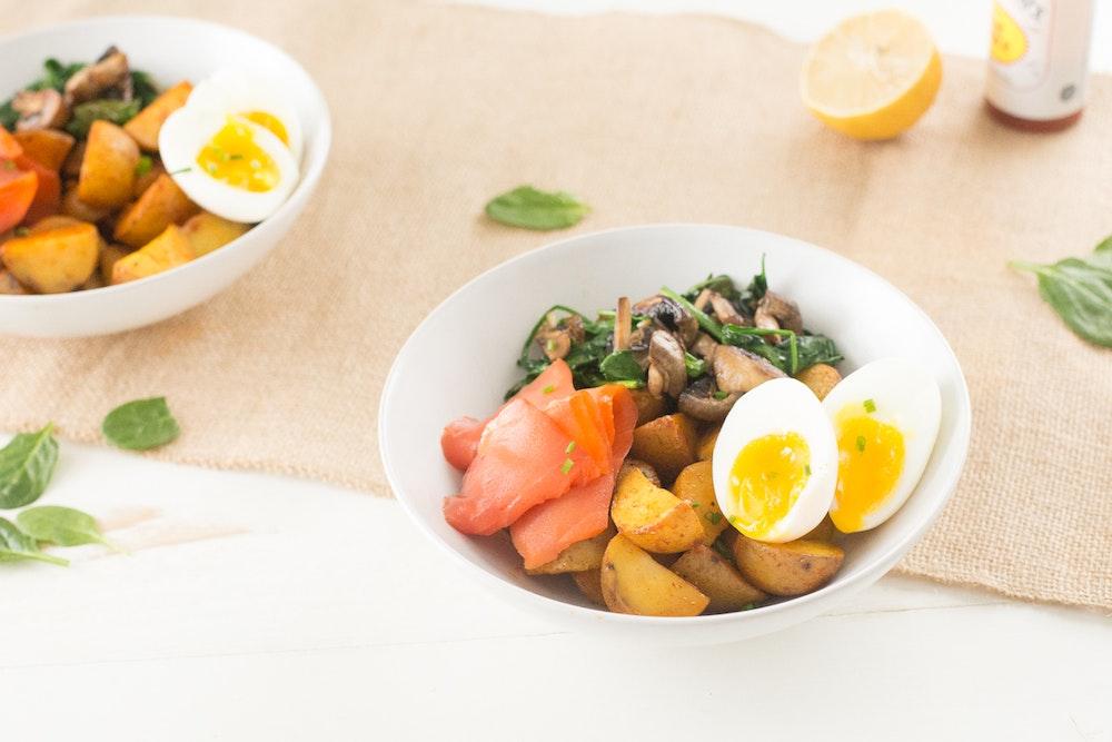 Smoked Salmon Breakfast Bowl