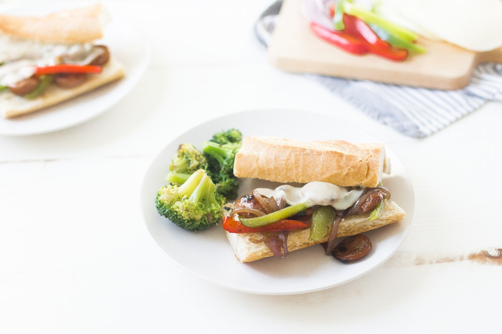 Sausage and Bell Pepper Hoagies