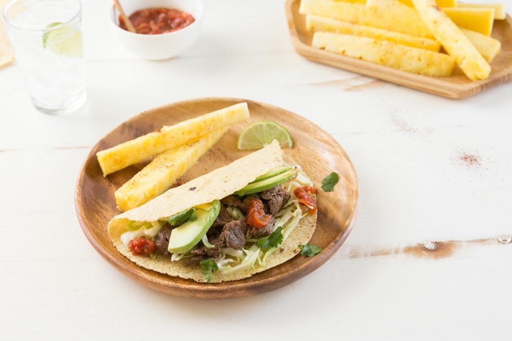 Black Bean and Zucchini Tacos