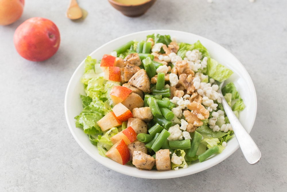 Honey Dijon Lentil Salad