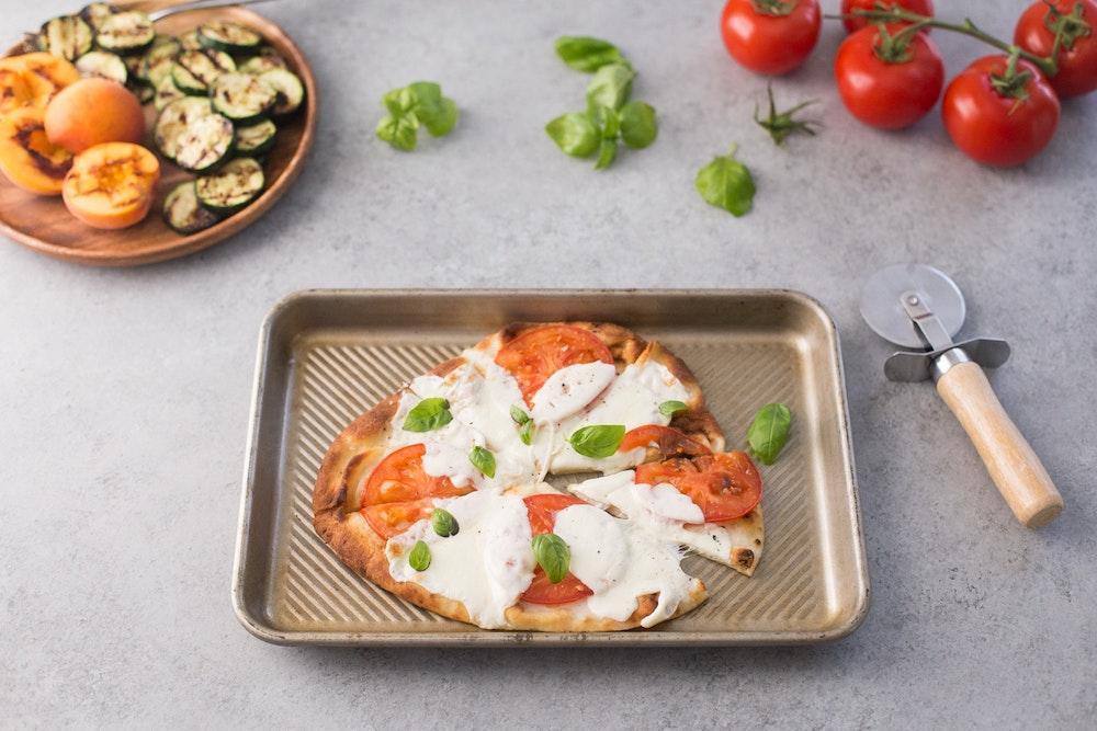 Balsamic Tomato and Basil Pork Chop