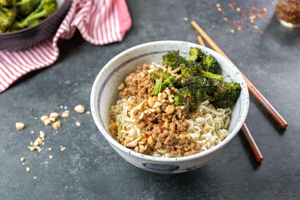 Dan Dan-Style Noodles
