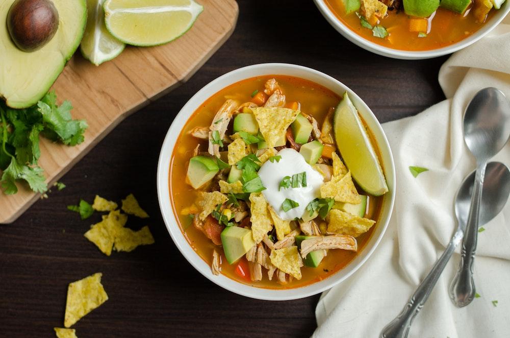 Slow Cooker Sopa Azteca