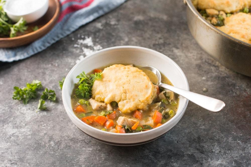 Chicken Stew with Chard