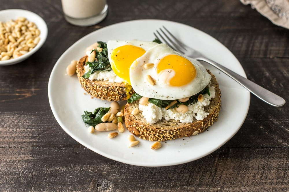 Winter Toasts with Ricotta and Chard