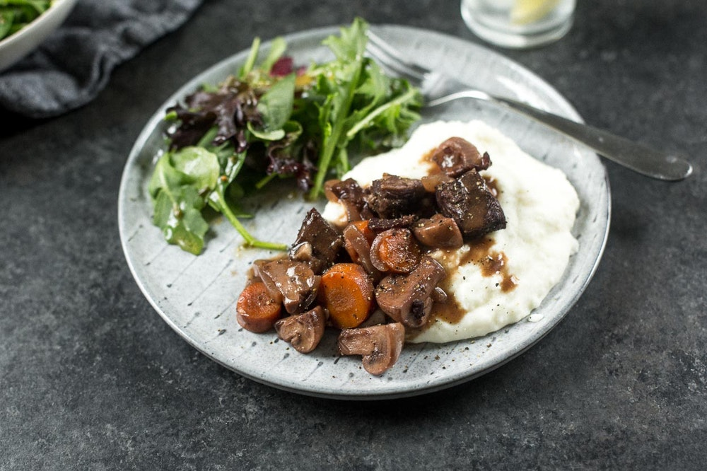 Slow Cooker (or not) Beef Bourguignon