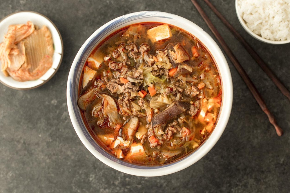 [Leftover] Korean Bulgogi Soup