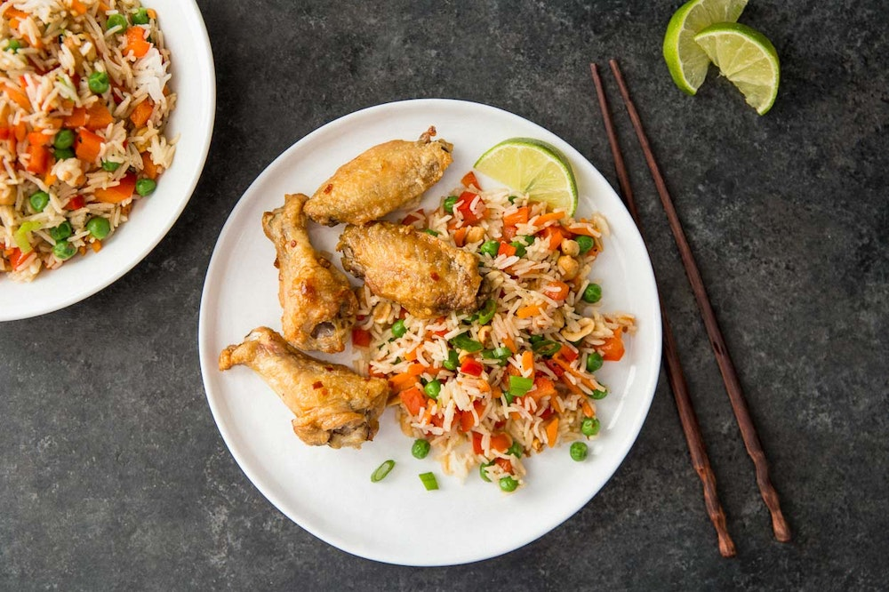 Kung Pao Chicken Wings