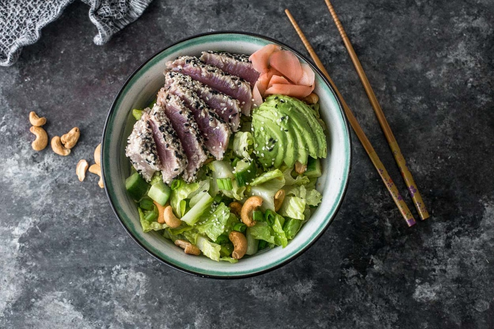 Tuna Roll Salad