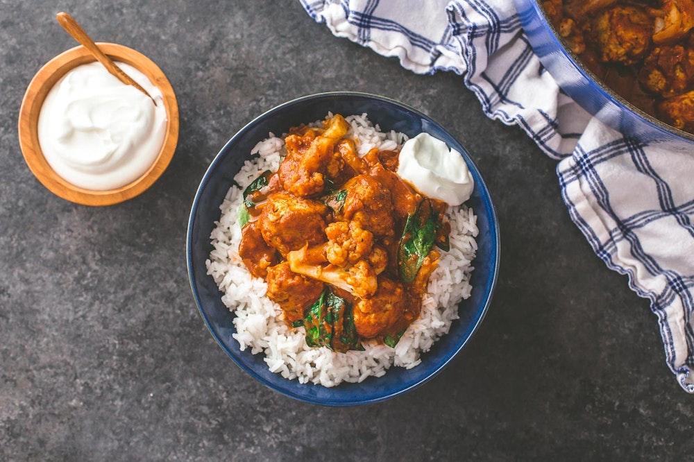 Indian Butter Chicken Meatballs