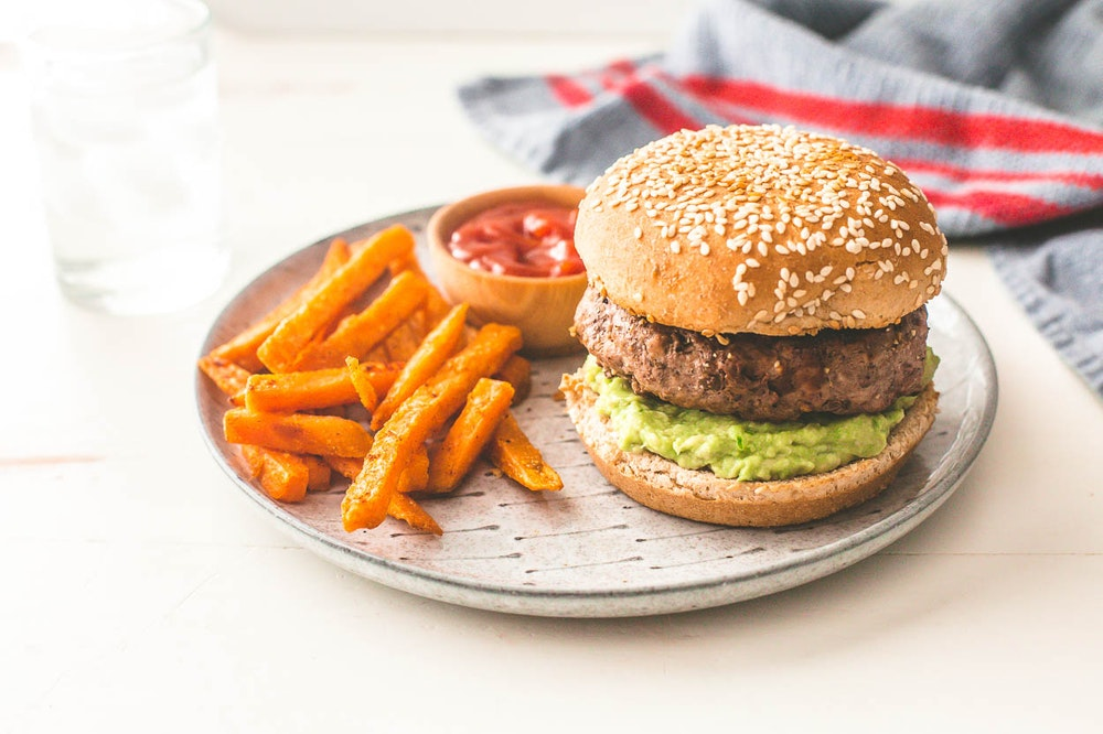 Chipotle Guacamole Burger