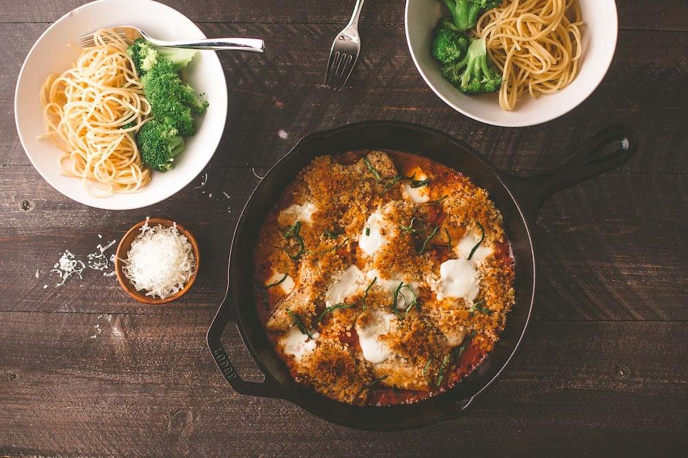 Weeknight Chicken Parmesan