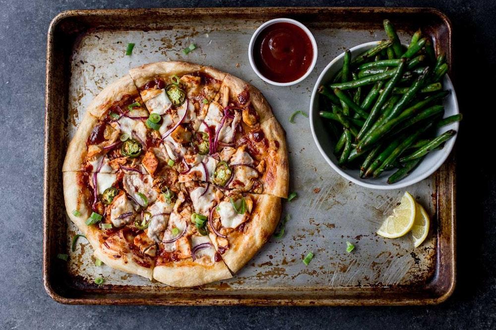 BBQ Rotisserie Chicken Pizza