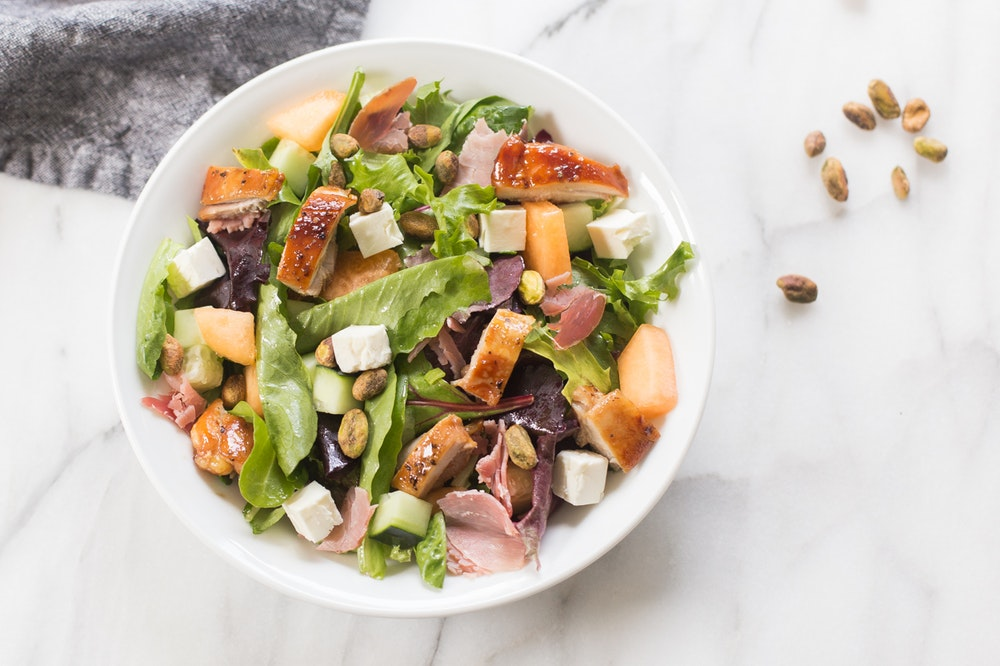 {Leftover} Summer Chopped Chicken Salad