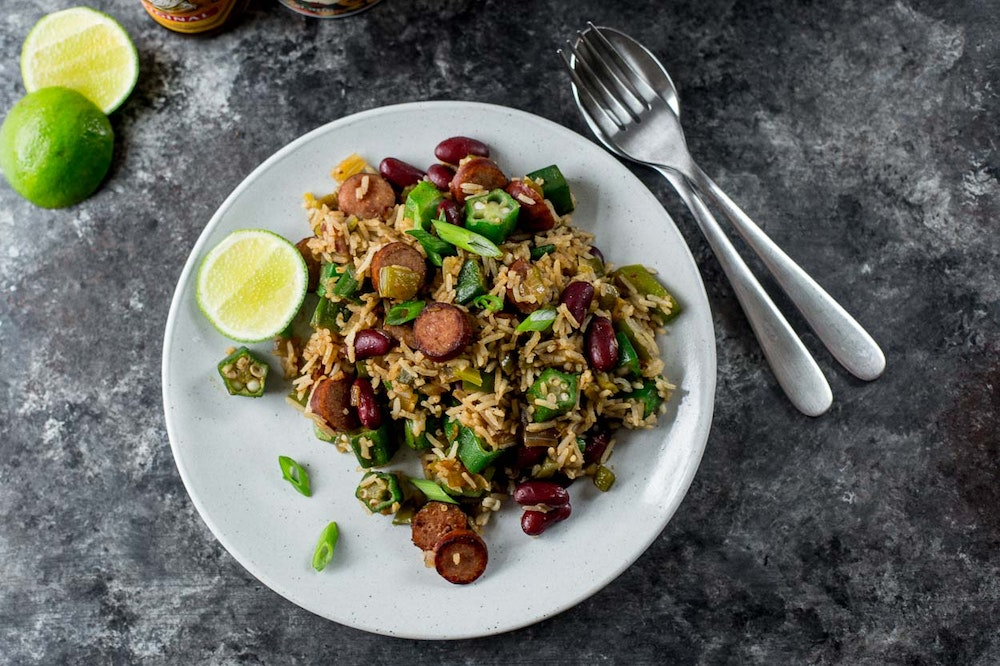 Cajun-Style Fried Dirty Rice