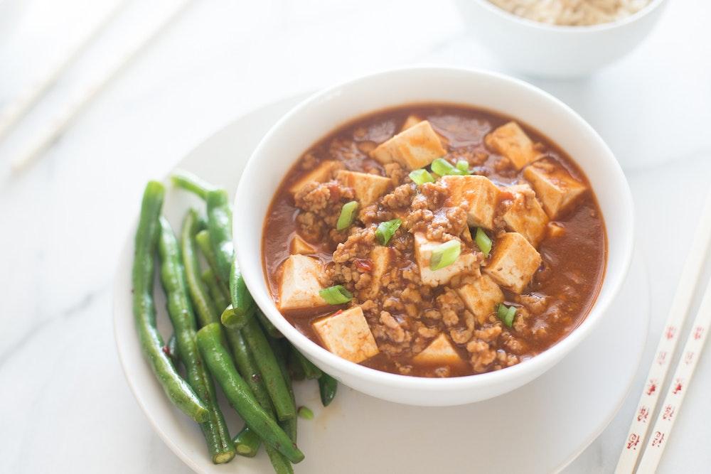 Ma Po Tofu with Pork